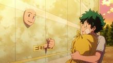 Face gives Izuku directions
