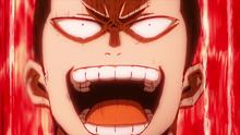 Inasa Yoarashi screaming