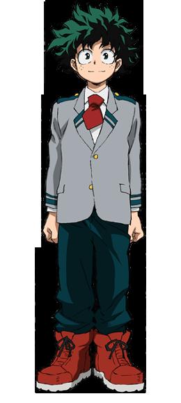 Izuku Midoriya Uniforme