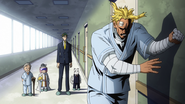 All Might and Sir Nighteye break up