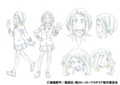 Ochako's Anime Character Design