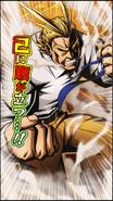 All Might Upgrade Character Art 5 Smash Rising