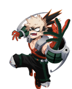 My Hero Academia The Strongest Hero Katsuki Bakugo Artwork