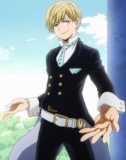 Neito Monoma traje de héroe anime
