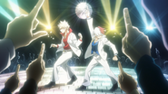 Shoto and Katsuki at Satuday Night Fever