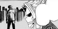Toshinori tells Izuku about All for One