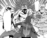 Koichi vs. Instant Villains Soga, Moyuru and Rapt