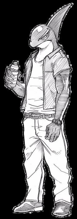 Kugo Sakamata civilian profile