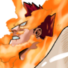 Endeavor Colored Manga Portrait