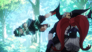 Izuku gets behind Gentle