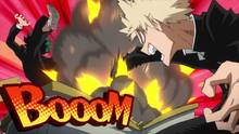 Katsuki Blasts Izuku-0