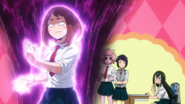 Ochaco's fighting spirit