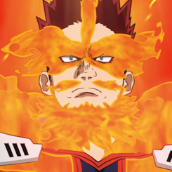 Endeavor Anime Portrait