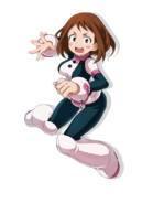 My Hero Academia The Strongest Hero Ochaco Uraraka Artwork