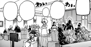 Class 1-A and 1-B party