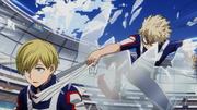 Katsuki takes Team Monoma's headbands