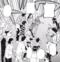 Class 1-A after the Shie Hassaikai Incident