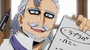 Danjuro gives himself dark circles around his eyes