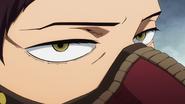 Overhaul glares at Mirio