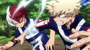 Shoto vs Katsuki obstacle race