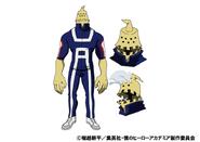 Kojiro Bondo TV Animation Design Sheet