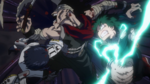 Izuku and Tenya defeat Stain