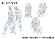 Moonfish Shading TV Animation Design Sheet