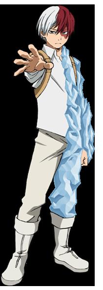 Shoto Todoroki Héroe
