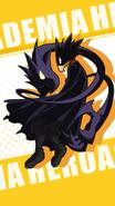 Fumikage Tokoyami Character Art 1 Smash Tap