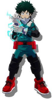Izuku Midoriya One's Justice 2 Design