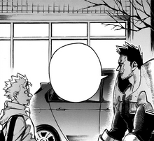 Endeavor is sincere with his son Natsuo