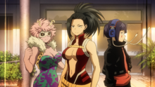 Momo, Kyoka and Mina Team Up