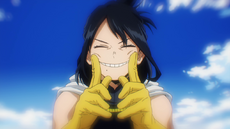 Nana Shimura Sonriendo