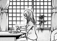 Rei looking over Shoto's letters