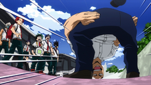 Inasa apologizes for crashing the group cheer