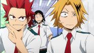 Denki, Hanta and Eijiro react to Neito's mockery