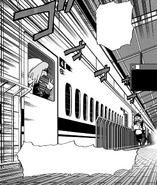 Koichi is gonna miss the train