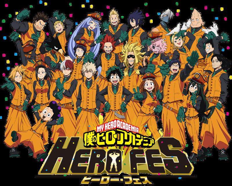 My Hero Academia HERO FES 2019 Key Visual