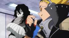 Shota defends Katsuki