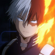 Shoto Todoroki VS Hero Killer Arc