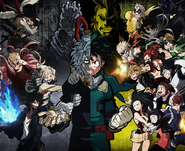My Hero One's Justice Cast Artwork