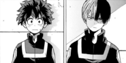 Shoto confronts Izuku