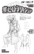 Volume 25 Tomura Shigaraki Sketch