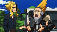 All Might and Present Mic