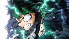 Deku joins the battle (Anime)