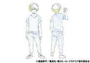 Katsuki Bakugo Casual Shading TV Animation Design Sheet