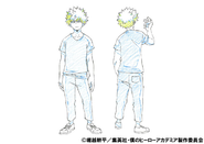 Katsuki Bakugo Casual Shading TV Animation Design Sheet