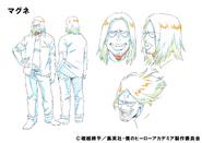 Magne Shading TV Animation Design Sheet
