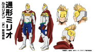 Mirio Togata Hero Costume TV Animation Design Sheet