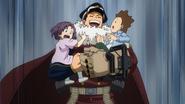 Inasa Yoarashi gets along with the kids (anime)